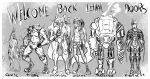 2018 android anthro armor bionic canine cibernetic clothing cybernetics design digital_drawing_(artwork) digital_media_(artwork) dog exoskeleton futuristic genetic giovanni_vera_(gio) hybrid implants lethal_doors line_art machine madnessandgiovanni0595 male mammal military monochrome pointy_ears robot science_fiction simple_background sketch suit weapon white_background