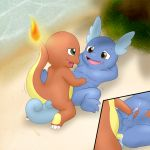 anal charmander charmandrigo cum foreskin male male/male masturbation nintendo nipples nude orgasm penetration penis pokémon pokémon_(species) shell-less slightly_chubby uncut video_games wartortle
