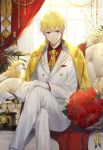 business_suit ekita_gen fate/grand_order fate/stay_night fate/stay_night_unlimited_blade_works gilgamesh_(fsn) male