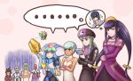 ... 4girls 5boys abanasosu akatsuki_shidou bangs blunt_bangs bracelet braid brown_eyes crossed_arms fringe green_hair hairband hat helmet holding holding_staff jack_(rockman) long_hair low-tied_long_hair multiple_boys multiple_girls necklace pendant prometheus purple_eyes red_eyes rockman rockman_dash rockman_exe rockman_zx ryuusei_no_rockman sera_(rockman_dash) short_hair sidelocks skullman.exe speech_bubble staff twin_braids white_background