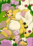 2015 abdominal_bulge absurd_res ampharos ditto duo egg female feral forced goo_creature hair hi_res lying mammal mega_ampharos mega_evolution nintendo nude on_back open_mouth oviposition ovipositor penetration pokémon pokémon_(species) pussy rape sex type vaginal vaginal_penetration video_games white_hair