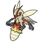 2017 3_fingers 4_arms abdomen alternate_species antennae arthropod blaziken bugdex digital_drawing_(artwork) digital_media_(artwork) fakémon feral front_view full-length_portrait fur gloves_(marking) grey_exoskeleton insect insect_wings markings multi_arm multi_limb multicolored_fur nintendo pokémon pokémon_(species) portrait red_antennae red_exoskeleton red_fur ricky_hoffman simple_background slit_pupils solo suspended_in_midair tan_fur toony translucent translucent_wings two_tone_exoskeleton video_games white_background wings yellow_eyes yellow_fur yellow_wings
