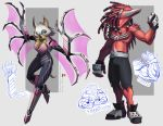 alternate_universe anthro bat blue_eyes bodysuit claws clothed clothing concept_art cybernetics cyborg dreadlocks echidna energy_wings female fur grimdark knuckle_duster knuckles_the_echidna looking_at_viewer loupgarou machine male mammal melee_weapon metal monotreme rouge_the_bat shorts simple_background skinsuit sonic_(series) tight_clothing topless weapon white_fur winged_arms wings wire
