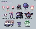 aircraft airplane black_tri-stars cosplay death_star dual_wielding fighter_jet gaogaigar girls_frontline ground_vehicle guardians_of_the_galaxy gundam holding idolmaster jet jojo_no_kimyou_na_bouken marvel mecha military military_vehicle motor_vehicle peter_quill peter_quill_(cosplay) pink_hair pixel_art pokemon pokemon_(creature) st_ar-15_(girls_frontline) stand_(jojo) star_platinum star_platinum_(cosplay) star_wars starbucks starbucks_siren stardust_crusaders starmie starscream transformers van yuyukong