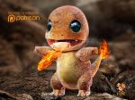 2014 3_fingers 3_toes 3d_(artwork) ambiguous_gender anthro better_version_at_source biped blurred_background charmander claws countershade_torso countershading desolate detailed detailed_scales digital_media_(artwork) fangs featureless_crotch fire fire_breathing flaming_tail front_view full-length_portrait green_eyes kaikiato lighting logo long_tail looking_up malaysian multicolored_scales nintendo nude official_art open_mouth open_smile orange_scales orange_tail outside patreon pixel_(artwork) pokémon pokémon_(species) portrait reptile rock scales scalie shadow smile solo spread_arms standing toe_claws toes two_tone_scales video_games watermark white_claws yellow_countershading yellow_scales zbrush