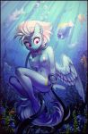 2018 5_fingers anthro areola baramx blue_areola blue_feathers bracelet breasts bubble butt collaboration cute cutie_mark detailed_background equine erect_nipples eyebrows eyelashes feathered_wings feathers female fish fleetfoot_(mlp) forced friendship_is_magic hair hi_res hooves jewelry looking_down mammal marine my_little_pony navel nipples nude pegasus penetration plant portrait purple_eyes pussy_juice ramiras rape rock sharedast ship short_hair skinny_dipping solo sunlight teeth tentacle_rape tentacle_sex tentacles underwater vaginal vaginal_penetration vehicle water wet white_hair wide_eyed wings wonderbolts_(mlp)