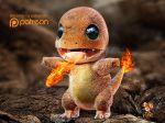 2014 3_fingers 3_toes 3d_(artwork) ambiguous_gender anthro biped blurred_background charmander claws countershade_torso countershading desolate detailed detailed_scales digital_media_(artwork) fangs featureless_crotch fire fire_breathing flaming_tail front_view full-length_portrait green_eyes kaikiato lighting logo long_tail looking_up malaysian multicolored_scales nintendo nude open_mouth open_smile orange_scales orange_tail outside patreon pixel_(artwork) pokémon pokémon_(species) portrait reptile rock scales scalie shadow smile solo spread_arms standing toe_claws toes two_tone_scales video_games watermark white_claws yellow_countershading yellow_scales zbrush