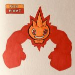 2018 ambiguous_gender english_text fakémon firefightdex fist floating front_view full-length_portrait ghost glowing hatching_(technique) hi_res marker_(artwork) mfanjul mixed_media nintendo normal_rotom not_furry orange_body orange_eyes pen_(artwork) pokémon pokémon_(species) portrait red_body rotom shadow simple_background smile solo spikes spirit suspended_in_midair text toony traditional_media_(artwork) translucent_body two_tone_body video_games waddling_head white_background