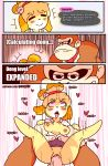 ahegao animal_crossing anthro ape blush breasts canine clothing comic comic_page crossover dog donkey_kong_(character) donkey_kong_(series) duo english_text female fur isabelle_(animal_crossing) larger_male looking_pleasured male male/female mammal nintendo nipples penetration penis pongldr primate pussy questionable_consent sex shih_tzu simple_background size_difference smile super_smash_bros super_smash_bros._ultimate tears text vaginal vaginal_penetration video_games