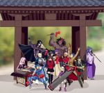 6+boys 6+girls ahoge anger_vein archer armor armored_dress artoria_pendragon_(all) assassin_(fate/stay_night) bangs bare_shoulders berserker black_gloves black_hair black_legwear black_neckwear black_skirt blazer blindfold blonde_hair blue_bodysuit blue_hair blurry bodysuit bow bracer cape caster child cloak coat collar commentary_request covering_ears dark_skin dark_skinned_male depth_of_field detached_sleeves dizi dress drum erhu faceless facial_mark fate/stay_night fate_(series) forehead_mark formal gauntlets glasses gloves hair_bow hair_bun hair_ribbon hat homurahara_academy_uniform hood hooded_cloak instrument jacket japanese_clothes kuzuki_souichirou lancer long_hair long_skirt long_sleeves matou_sakura matou_shinji meme motion_lines multiple_boys multiple_girls music necktie open_mouth pants parody pauldrons pink_footwear pink_hair pipa_(instrument) playing_instrument ponytail purple_hair purple_ribbon red_bow red_coat ribbon rider saber school_uniform shirt short_hair shoulder_armor sitting skirt strapless strapless_dress suit suona tagme temple thighhighs tohsaka_rin trench_coat trumpet trumpet_boy twintails two_side_up white_hair white_shirt white_skirt wide_sleeves yaoshi_jun zettai_ryouiki