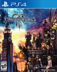 4girls 6+boys absurdres against_wall animal_ears aqua_(kingdom_hearts) axel_(kingdom_hearts) black_coat black_coat_(kingdom_hearts) black_hair blonde_hair blue_eyes box_art building city clock clock_tower coat copyright_name detached_sleeves disney donald_duck dress game_console gargoyle goofy hat heartless highres hood hoodie kairi_(kingdom_hearts) keyblade kingdom_hearts kingdom_hearts_iii ladder logo looking_to_the_side mickey_mouse mouse_ears mouse_tail multiple_boys multiple_girls namine nomura_tetsuya official_art over_shoulder playstation playstation_4 red_hair riku roxas serious short_dress sitting skyscraper smile sora_(kingdom_hearts) spiked_hair square_enix standing strap tail terra_(kingdom_hearts) tower twilight ventus weapon weapon_over_shoulder xion_(kingdom_hearts)