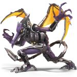 absurd_res alpha_channel ambiguous_gender anthro claws cybernetics cyborg hi_res machine meta_ridley nintendo official_art simple_background solo super_smash_bros super_smash_bros._ultimate transparent_background video_games
