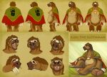 2011 3_toes 4_fingers angry annoyed anthro belly biped blood brown_background brown_fur brown_hair brown_markings brown_nose brown_pawpads bruised cape character_name claws clothing digital_drawing_(artwork) digital_media_(artwork) drooling english_text expression_sheet eye_markings eyes_closed facial_markings fangs featureless_crotch front_view full-length_portrait fur gem giant_ground_sloth grass ground_sloth hair handpaw headshot_portrait heilos hybrid lighting long_claws looking_at_viewer male mammal mane_hair markings mask_(marking) model_sheet mostly_nude multicolored_fur multiple_angles multiple_poses muzzle_(marking) naked_cape open_frown open_mouth open_smile overweight overweight_male pale-throated_sloth pawpads pawprint paws pecs pilosan pink_tongue portrait pose rear_view rock saliva scowling shadow short_hair side_view simple_background sitting sleeping sloth smile snout solo squint standing tan_fur text three-toed_sloth toe_claws toes tongue white_claws white_fur white_markings wounded yelling