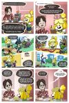 ambiguous_gender animal_crossing anthro canine clothed clothing comic dog duck_hunt duck_hunt_dog english_text featureless_feet featureless_hands female feral fox_mccloud fully_clothed human isabelle_(animal_crossing) lucario male mammal mario_bros masahiro_sakurai nintendo pikmin pokémon pokémon_(species) sola_(artist) star_fox super_smash_bros super_smash_bros._ultimate text video_games waluigi wolf_o'donnell
