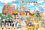 :d aardwolf_(kemono_friends) aardwolf_ears alpaca_ears alpaca_suri_(kemono_friends) american_beaver_(kemono_friends) animal_ears antenna_hair aqua_hair arm_up bangs baobab bear_ears bear_paw_hammer beaver_ears beaver_tail belt black-tailed_prairie_dog_(kemono_friends) black_gloves black_hair black_legwear black_neckwear blonde_hair blue_sky blunt_bangs bow bowtie brown_bear_(kemono_friends) brown_coat brown_eyes brown_hair building car caracal_(kemono_friends) caracal_ears castle cat_ears cat_tail cloud coat commentary_request common_raccoon_(kemono_friends) cross-laced_clothes day eighth_note elbow_gloves emperor_penguin_(kemono_friends) eurasian_eagle_owl_(kemono_friends) ezo_red_fox_(kemono_friends) fennec_(kemono_friends) ferris_wheel fingerless_gloves flying food fox_ears fur_collar gentoo_penguin_(kemono_friends) giant_panda_(kemono_friends) gloves golden_snub-nosed_monkey_(kemono_friends) green_eyes green_skirt grey_coat grey_gloves grey_hair grey_legwear ground_vehicle hair_ornament hair_over_one_eye hairclip hat_feather head_wings headphones high-waist_skirt hippopotamus_(kemono_friends) hippopotamus_ears holding holding_hammer holding_strap holding_weapon hood hoodie humboldt_penguin_(kemono_friends) japanese_crested_ibis_(kemono_friends) japari_bun japari_symbol jitome kaban_(kemono_friends) kemono_friends koala_(kemono_friends) koala_ears leotard long_sleeves lucky_beast_(kemono_friends) map milo miniskirt monkey_ears motor_vehicle mountain multicolored_hair multiple_girls musical_note necktie northern_white-faced_owl_(kemono_friends) official_art open_mouth orange_hair otter_ears outdoors palm_tree panther_chameleon_(kemono_friends) pantyhose partially_submerged pink_hair prairie_dog_ears prairie_dog_tail print_neckwear print_skirt raccoon_ears red_hair red_legwear red_skirt rockhopper_penguin_(kemono_friends) royal_penguin_(kemono_friends) sand_cat_(kemono_friends) school_uniform serafuku serval_(kemono_friends) serval_ears serval_print shirt shoebill_(kemono_friends) short_hair short_sleeves shorts silver_fox_(kemono_friends) skirt sky sleeveless sleeveless_shirt small-clawed_otter_(kemono_friends) smile spotted_hair streaked_hair tail tail_feathers thighhighs tibetan_sand_fox_(kemono_friends) tree tsuchinoko_(kemono_friends) weapon white_hair white_legwear white_neckwear white_skirt yellow_legwear yellow_neckwear yellow_skirt