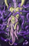 ahegao cum cum_covered cum_in_hair cum_on_face equine female fluttershy_(mlp) forced friendship_is_magic fur hair horse inflation looking_pleasured mammal messy my_little_pony pegasus pink_hair pony rape snoutless submissive tentacles thick_thighs vomit wings yellow_fur
