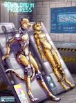 absurd_res android anthro cheetah clone feline hi_res libra-11 machine male mammal nude penis robot science synthetic