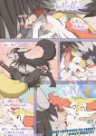 black_fur braixen comic crocodiler_owen cum cum_in_mouth cum_inside cunnilingus detailed_background fellatio female feral fur grey_fur knot male male/female mightyena nintendo oral orange_fur penis pokémon pokémon_(species) pussy pussy_juice pussy_juice_string red_eyes sex vaginal video_games white_fur yellow_fur
