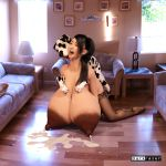 3d_(artwork) areola asian bestiality big_areola big_breasts breast_milking breasts canine clothing darkrazer digital_media_(artwork) dog female female_on_feral feral from_behind_position huge_breasts human human_focus human_on_feral inside interspecies lactating legwear male male/female mammal milk nipples sex stockings