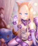 abigail_williams_(fate/grand_order) animal_ears cosplay fate/grand_order loli mash_kyrielight pantsu tagme tail thighhighs