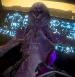 2018 3d_(artwork) alien ambiguous_gender digital_media_(artwork) duo handjob hi_res humanoid jaal_ama_darav male male/ambiguous male_focus mass_effect not_furry nude ralic_turman sex vetra_nyx video_games