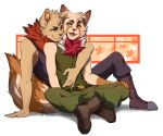 alpha_channel anthro anthro_on_anthro blue_eyes colored fluffy fluffy_tail fur green_eyes hi_res kasusei league_of_legends male male/male mammal open_mouth recon_scout_teemo riot_games teemo_(lol) teemo_the_yiffer video_games yordle