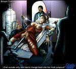 darth_vader empire_strikes_back lando_calrissian princess_leia_organa shabby_blue star_wars